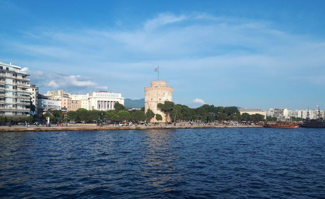 Denizden Selanik Manzarası