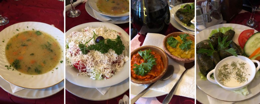 Ohrid'de Akşam Yemeği Gladiator Restoran