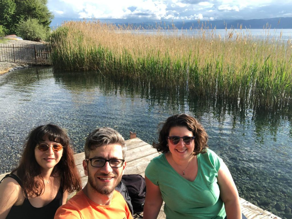 Bi' Gün Yine Yoldayız Ekibi Ohrid Gölü Kuzey Makedonya
