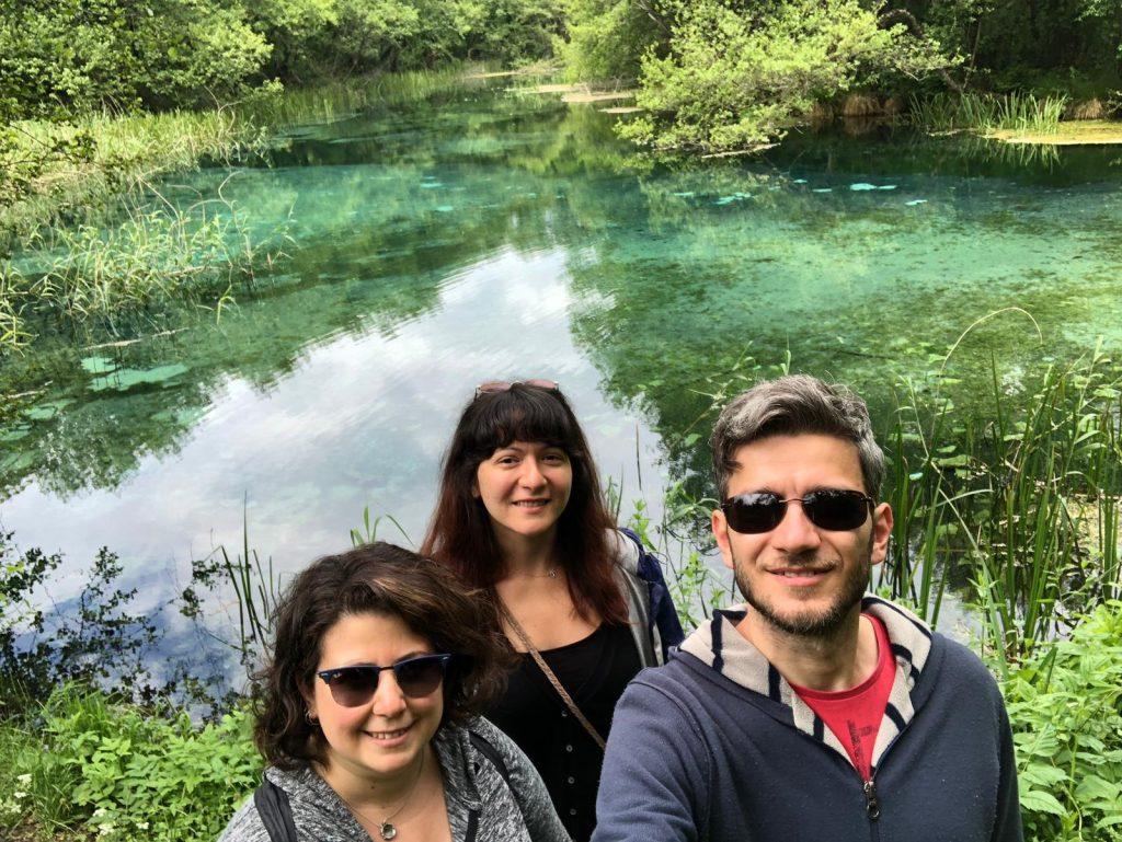 Bi' Gün Yine Yoldayız Ekibi Sveti Naum Ohrid Gölü Kuzey Makedonya