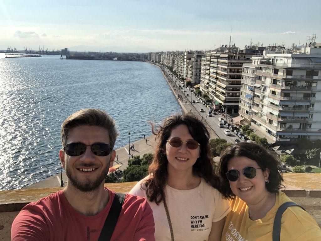 Beyaz Kule'de Bi' Gün Yine Yoldayız Ekibi Selanik'te Gezilecek Yerler Selanik Yunanistan