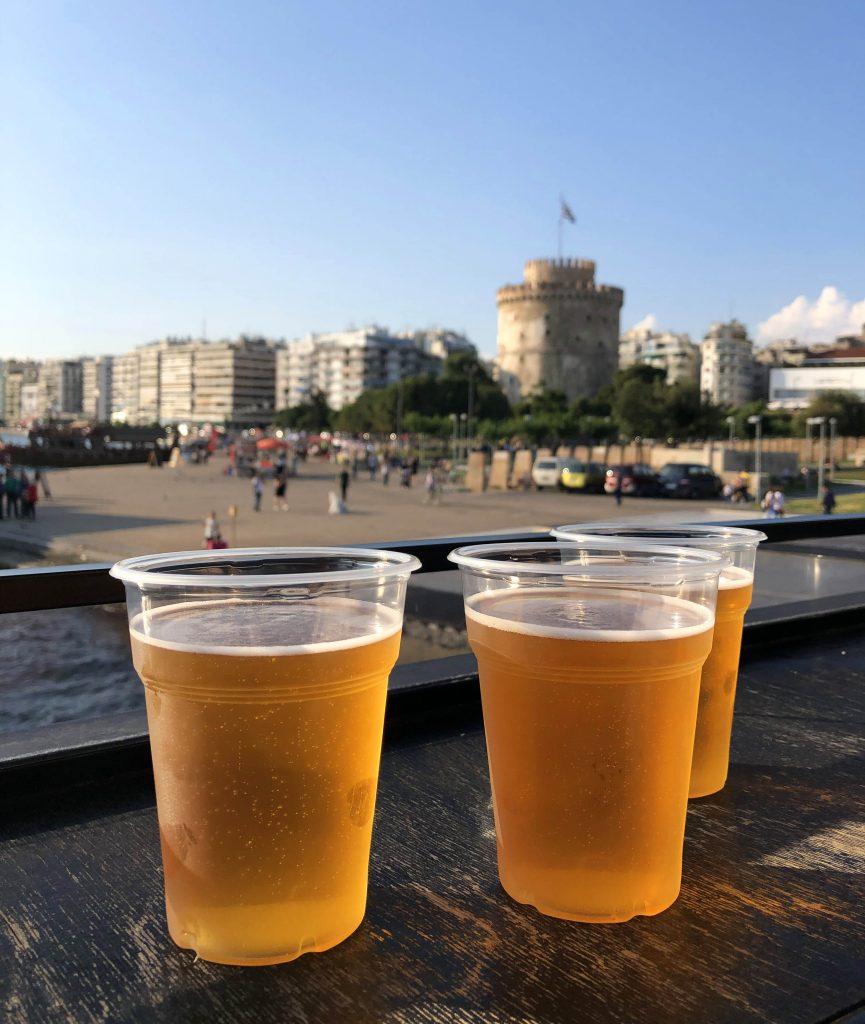 Selanik Tekne Turu'nda Beyaz Kule Manzarası Selanik'te Gezilecek Yerler Selanik Yunanistan