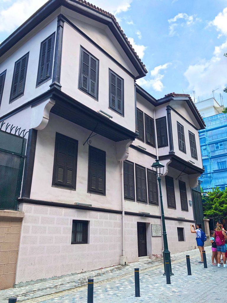 Mustafa Kemal Atatürk'ün Evi Selanik'te Gezilecek Yerler Selanik Yunanistan