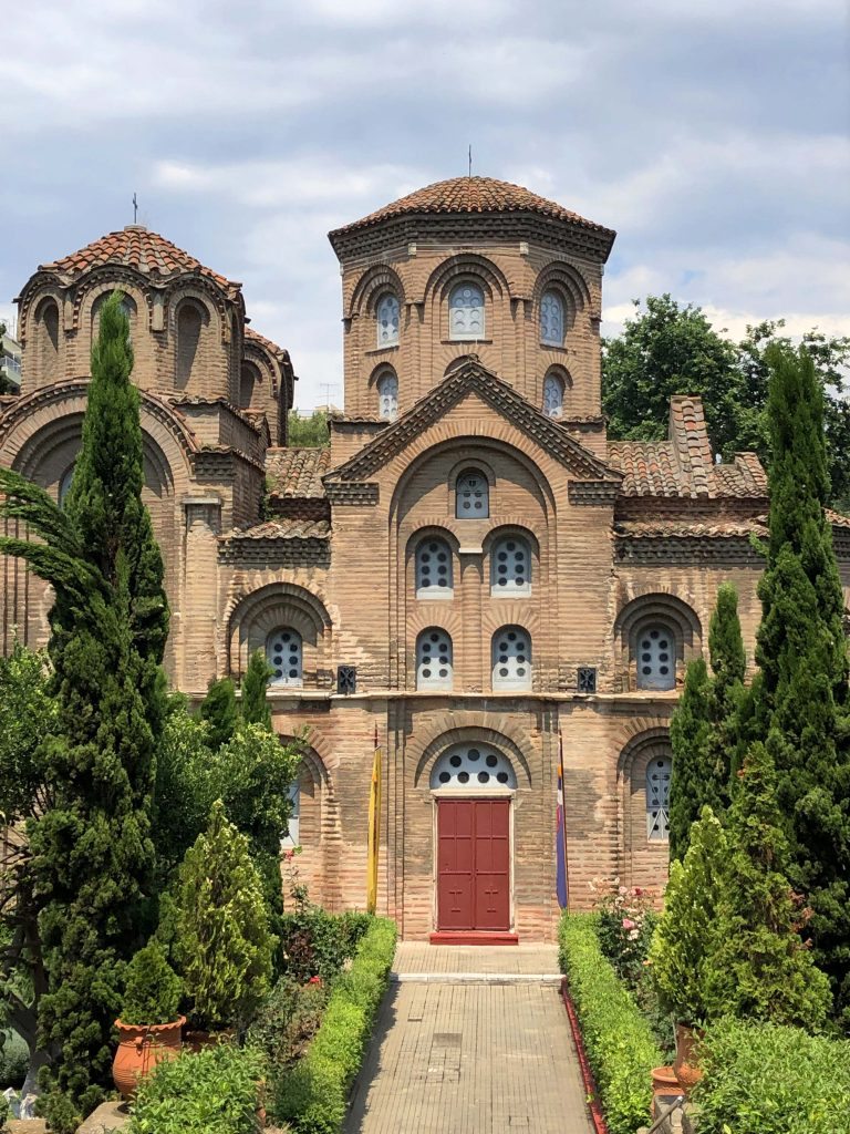 Panagia Kilisesi Selanik'te Gezilecek Yerler Selanik Yunanistan