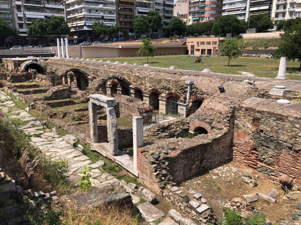 Eski Agora (Roma Forumu)  Selanik'te Gezilecek Yerler Selanik Yunanistan