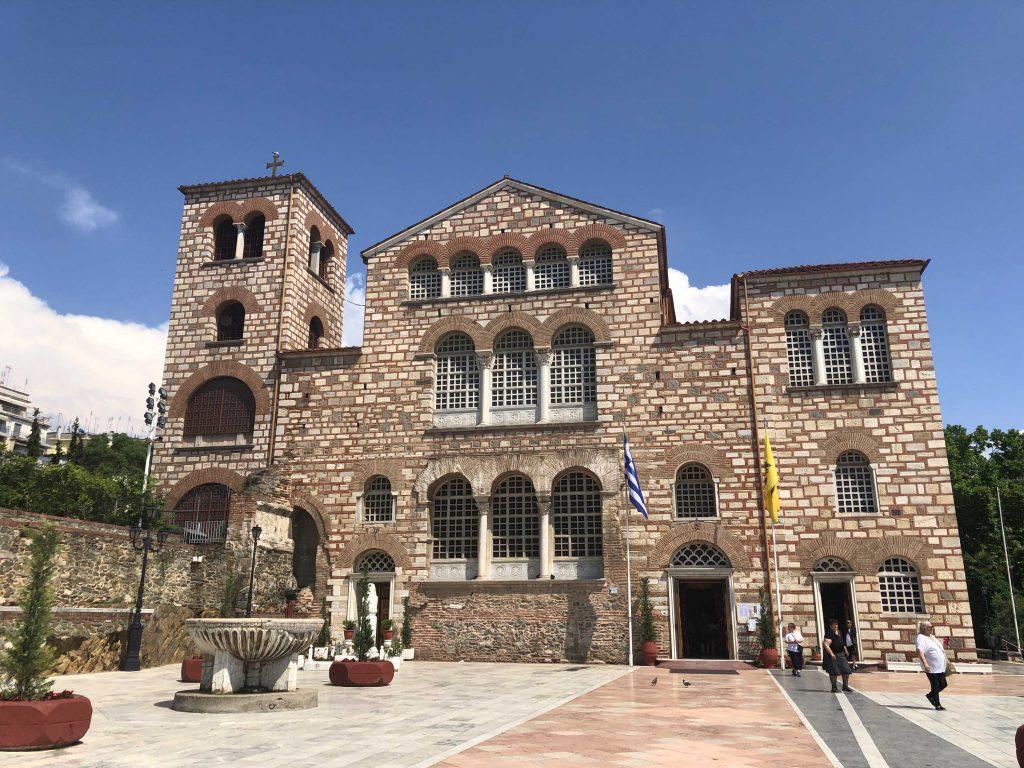 Aya Dimitri Kilisesi Selanik'te Gezilecek Yerler Selanik Yunanistan