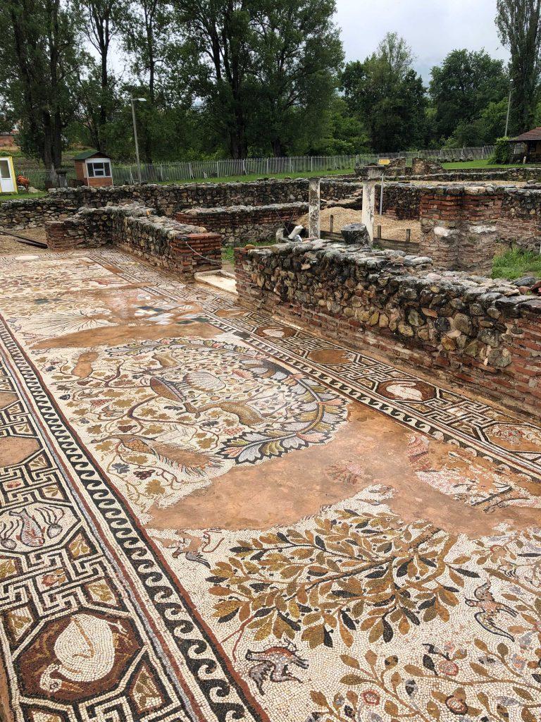 Heraclea Lyncestis Antik Kenti Mozaikleri Manastır - Bitola Kuzey Makedonya