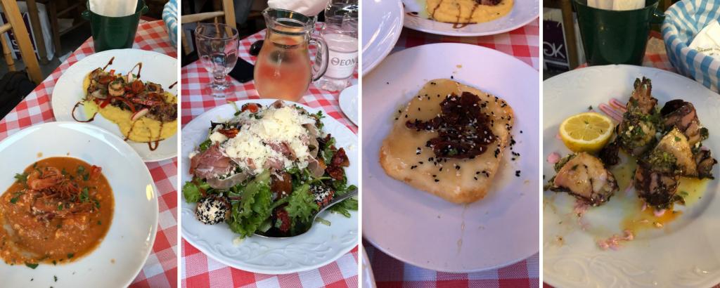 Selanik'te Akşam Yemeği -   The Garden of Thermaikos  Selanik Gezilecek Yerler